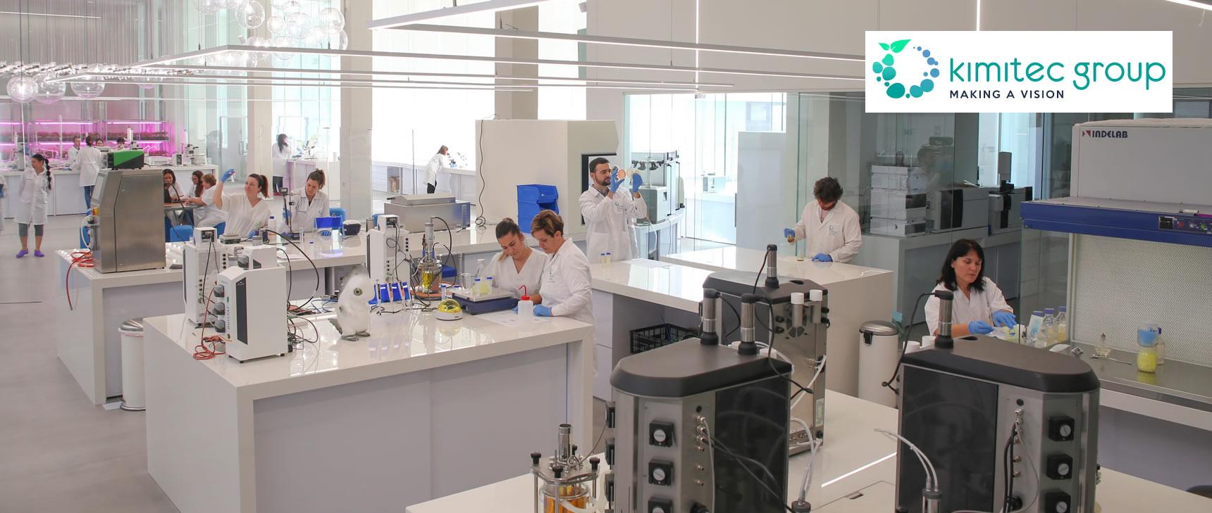 O maior centro de pesquisa de biopesticidas, probióticos e prebióticos da Europa.